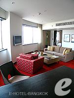 Living Room : Executive Suite (แม่น้ำเจ้าพระยา) โรงแรมในกรุงเทพฯ, ประเทศไทย