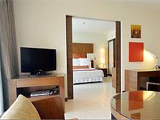プーケット パトンビーチのホテル : ミレニアム リゾート パトン プーケット(1)のお部屋「エグゼクティブ スイート」