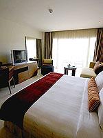プーケット パトンビーチのホテル : ミレニアム リゾート パトン プーケット(Millennium Resort Patong Phuket)のデラックス(シングル)ルームの設備 Bedroom