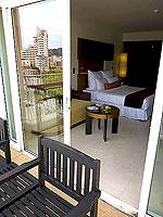 プーケット パトンビーチのホテル : ミレニアム リゾート パトン プーケット(Millennium Resort Patong Phuket)のデラックス(ダブル)ルームの設備 Room View