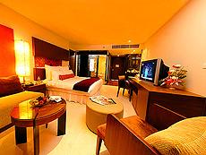 プーケット パトンビーチのホテル : ミレニアム リゾート パトン プーケット(1)のお部屋「デラックス(ダブル)」