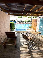 プーケット パトンビーチのホテル : ミレニアム リゾート パトン プーケット(Millennium Resort Patong Phuket)のカバナ プール アクセス(ダブル)ルームの設備 Room View
