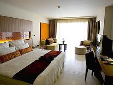 プーケット パトンビーチのホテル : ミレニアム リゾート パトン プーケット(1)のお部屋「カバナ プール アクセス(ダブル)」