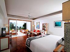 プーケット スパ併設のホテル : モム トリズ ヴィラ ロイヤル(1)のお部屋「ロイヤル ウィング スイート」