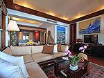 プーケット スパ併設のホテル : モム トリズ ヴィラ ロイヤル(Mom Tri's Villa Royale)のオーシャン ウィング ブルゴーニュルームの設備 Room View