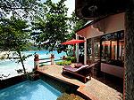 プーケット スパ併設のホテル : モム トリズ ヴィラ ロイヤル(Mom Tri's Villa Royale)のプール・スイートルームの設備 Private Pool