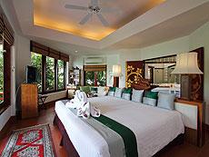 プーケット スパ併設のホテル : モム トリズ ヴィラ ロイヤル(1)のお部屋「オーシャン ウィング スイート」
