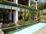 プーケット スパ併設のホテル : モム トリズ ヴィラ ロイヤル(Mom Tri's Villa Royale)のカタ スイートルームの設備 Direct Pool Access