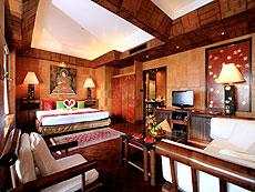 プーケット スパ併設のホテル : モム トリズ ヴィラ ロイヤル(1)のお部屋「カタ スイート」