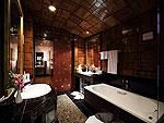 プーケット スパ併設のホテル : モム トリズ ヴィラ ロイヤル(Mom Tri's Villa Royale)のサム(ダマ ラクサ スイート)ルームの設備 Bath Room