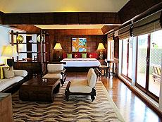 プーケット スパ併設のホテル : モム トリズ ヴィラ ロイヤル(1)のお部屋「ハー(トイ・タレイ・スイート)」