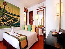 プーケット スパ併設のホテル : モム トリズ ヴィラ ロイヤル(1)のお部屋「オーシャン ウィング ボーデックス」