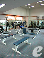 Fitness Gym : Montien Riverside Hotel, Swiming Pool, Phuket