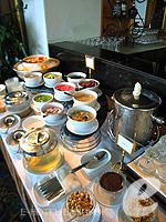バンコク チャオプラヤー川周辺のホテル : モンティエン リバーサイド ホテル 「Restaurant」