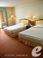 バンコク チャオプラヤー川周辺のホテル : モンティエン リバーサイド ホテル(Montien Riverside Hotel)のスーペリアルームの設備 Bedroom