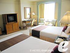 バンコク チャオプラヤー川周辺のホテル : モンティエン リバーサイド ホテル(Montien Riverside Hotel)のお部屋「デラックス」
