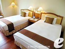 バンコク チャオプラヤー川周辺のホテル : モンティエン リバーサイド ホテル(Montien Riverside Hotel)のお部屋「クラブ C」