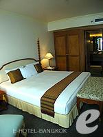 バンコク チャオプラヤー川周辺のホテル : モンティエン リバーサイド ホテル(Montien Riverside Hotel)のエグゼクティブ スイートルームの設備 Bedroom