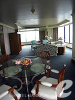 バンコク チャオプラヤー川周辺のホテル : モンティエン リバーサイド ホテル(Montien Riverside Hotel)のエグゼクティブ スイートルームの設備 Dining Area