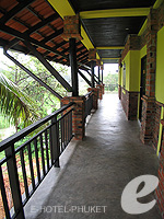 Corridor : Motive Cottage Resort, Khaolak, Phuket