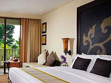 プーケット ファミリー&グループのホテル : モーベンピック リゾート & スパ カロン ビーチ(1)のお部屋「スーペリア ガーデンビュー」