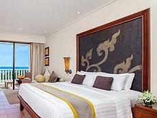 プーケット ファミリー&グループのホテル : モーベンピック リゾート & スパ カロン ビーチ(1)のお部屋「スーペリア オーシャン ビュー ルーム」