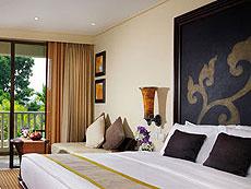 プーケット ファミリー&グループのホテル : モーベンピック リゾート & スパ カロン ビーチ(1)のお部屋「デラックス ガーデン ルーム」