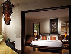 プーケット ファミリー&グループのホテル : モーベンピック リゾート & スパ カロン ビーチ(1)のお部屋「1ベッドルーム スイート」