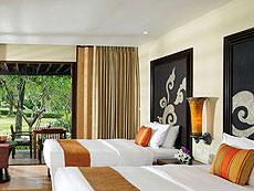 プーケット ファミリー&グループのホテル : モーベンピック リゾート & スパ カロン ビーチ(1)のお部屋「デラックス ガーデン ヴィラ」