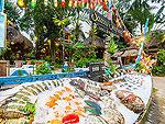サムイ島 プールアクセスのホテル : ムアン サムイ スパ リゾート 「Samui-seafood」