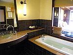 プーケット カオラックのホテル : ムクダラ ビーチ リゾート(Mukdara Beach Villa & Spa Resort)のデラックス(ロイヤルウィング)ルームの設備 Bath Room