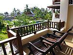 プーケット カオラックのホテル : ムクダラ ビーチ リゾート(Mukdara Beach Villa & Spa Resort)のデラックス(ロイヤルウィング)ルームの設備 Balcony