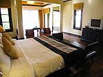 プーケット カオラックのホテル : ムクダラ ビーチ リゾート(Mukdara Beach Villa & Spa Resort)のデラックス ガーデンヴィラルームの設備 Bed Room