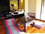 プーケット カオラックのホテル : ムクダラ ビーチ リゾート(Mukdara Beach Villa & Spa Resort)のデラックス ガーデンヴィラルームの設備 Living Area