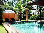 プーケット カオラックのホテル : ムクダラ ビーチ リゾート(Mukdara Beach Villa & Spa Resort)のハネムーン スイート プールビラ ガーデンビュー(ルームの設備 Private Pool