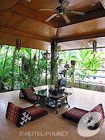 プーケット パトンビーチのホテル : ナナイ ヴィラ 「Relax Area」