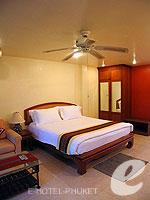 プーケット ロングステイのホテル : ナナイ ヴィラ(Nanai Villa)のスタジオルームの設備 Bedroom