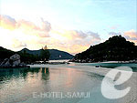 Sunset : Nangyuan Island Dive Resort, Koh Tao, Phuket