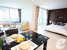パタヤ プライベートビーチありのホテル : ナラ レジデンス(1)のお部屋「スタジオ」