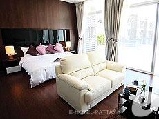 パタヤ プライベートビーチありのホテル : ナラ レジデンス(1)のお部屋「1ベッドルーム XL スイート」