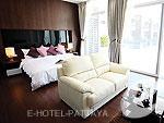 パタヤ プライベートビーチありのホテル : ナラ レジデンス(Nara Residence)の1ベッドルーム XL プール スイートルームの設備 Room View