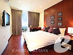 パタヤ プライベートビーチありのホテル : ナラ レジデンス(Nara Residence)の2ベッドルーム デプレックス プール スイートルームの設備 Room View