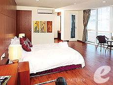 パタヤ プライベートビーチありのホテル : ナラ レジデンス(1)のお部屋「ペントハウス」
