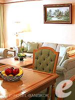 バンコク シーロム・サトーン周辺のホテル : ナライ ホテル(Narai Hotel)のエグゼクティブ スイート ルームルームの設備 Living Area
