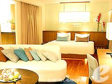 バンコク シーロム・サトーン周辺のホテル : ナライ ホテル(Narai Hotel)のお部屋「デラックススイート」