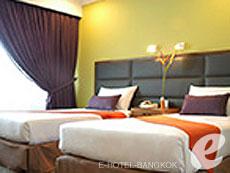 バンコク シーロム・サトーン周辺のホテル : ナライ ホテル(Narai Hotel)のお部屋「スタンダード(ツイン/ダブル)」