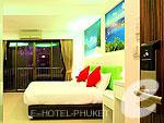 プーケット 2ベッドルームのホテル : アイ チェックイン パトン プーケット(i Check Inn Patong Phuket)のデラックスルームの設備 Bedroom