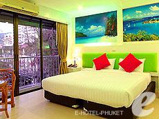 プーケット 2ベッドルームのホテル : アイ チェックイン パトン プーケット(1)のお部屋「デラックス」