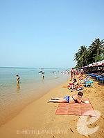 パタヤ ジョムティエンビーチのホテル : ナチュラル パーク リゾート 「Beach」
