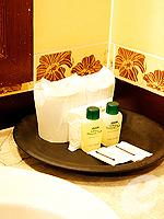 パタヤ ジョムティエンビーチのホテル : ナチュラル パーク リゾート(Natural Park Resort)のスタンダードルームの設備 Bath Amenities